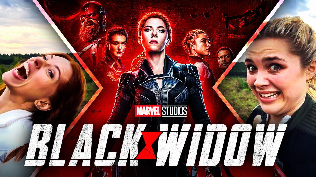 Scarlett Johansson Black Widow Florence Pugh Yelena Belova