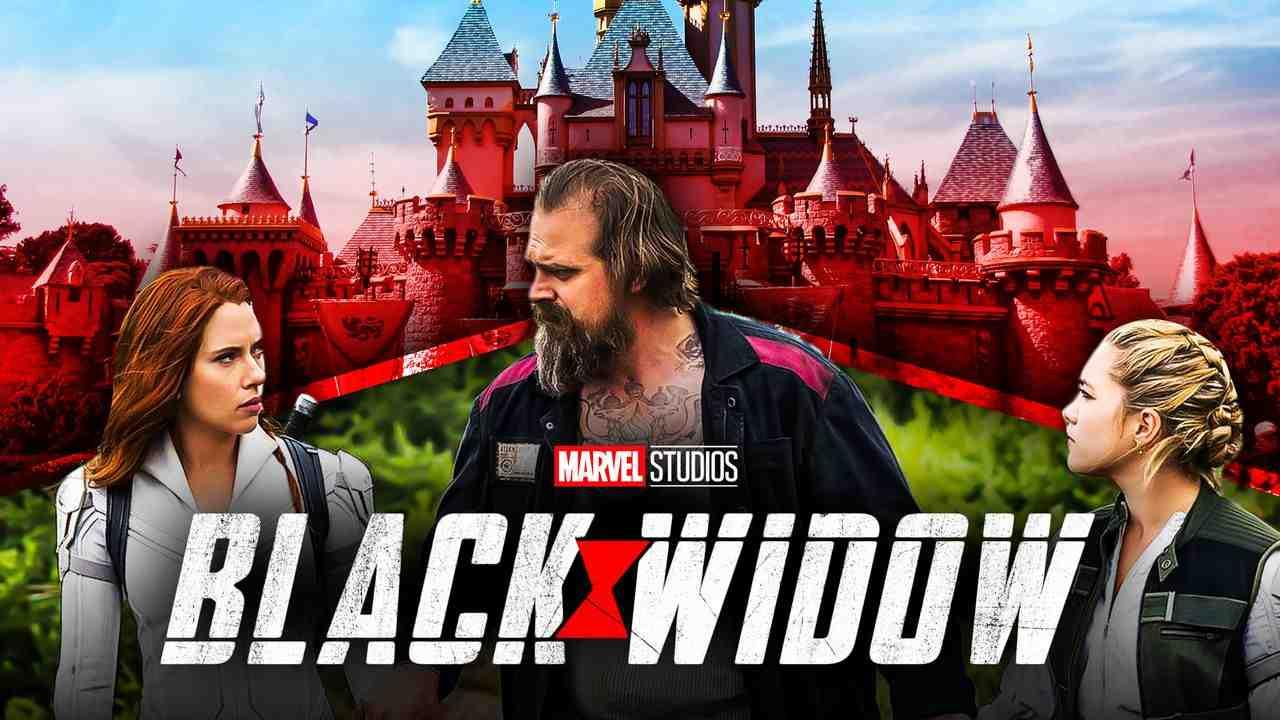 Black Widow Disneyland