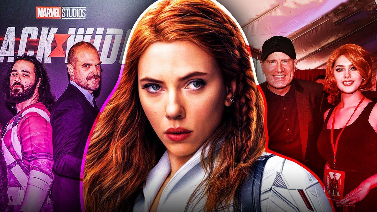 Black Widow, Scarlett Johansson, David Harbour, Kevin Feige