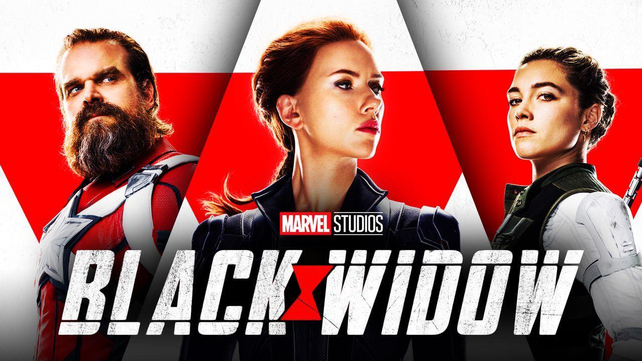 Scarlett Johansson as Natasha Romanoff, David Harbour, Florence Pugh