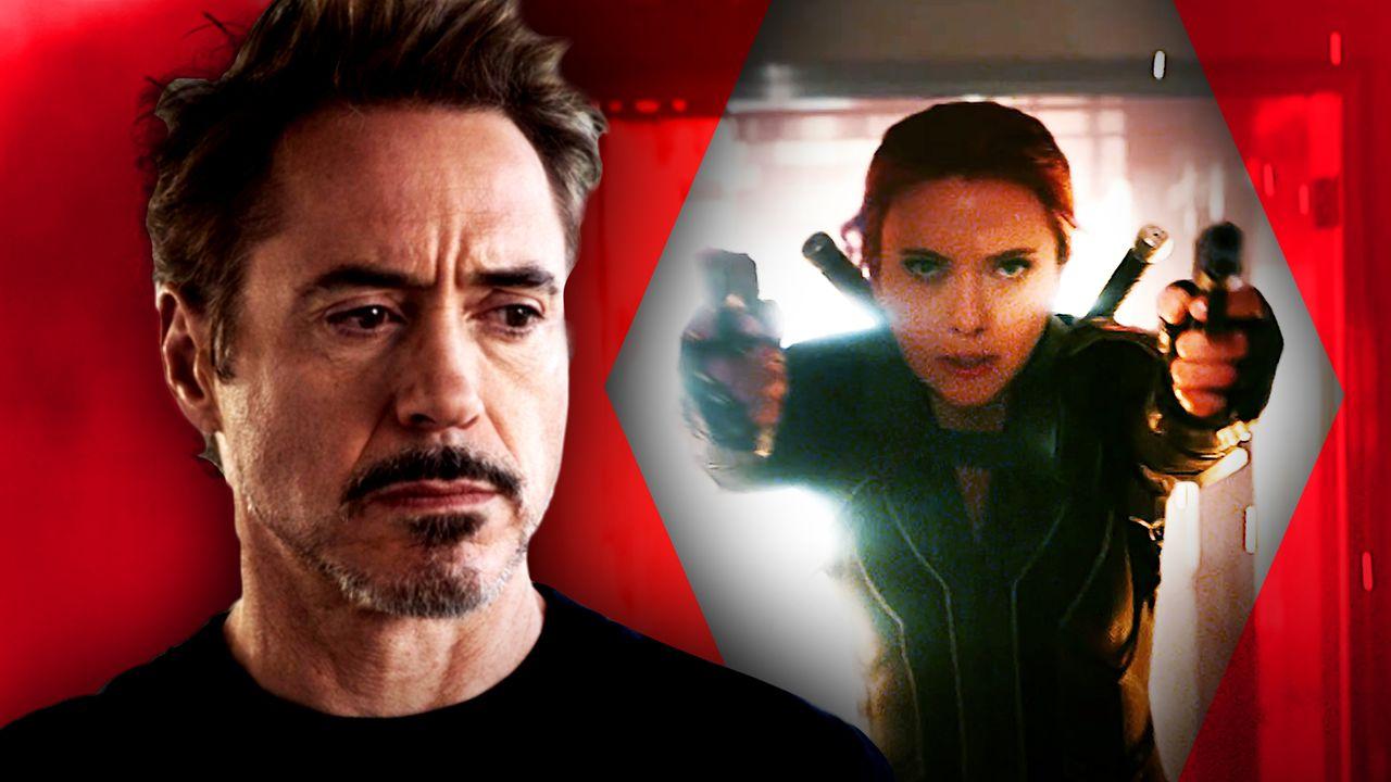 Tony Stark, Black Widow