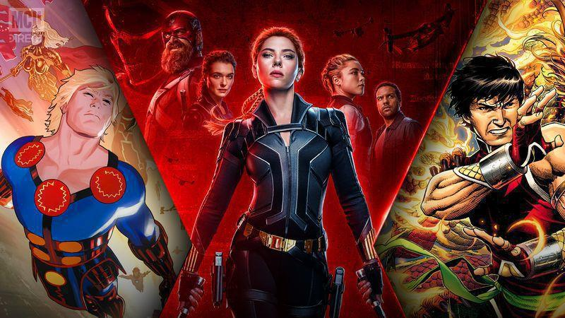 Black Widow, The Eternals, Shang-Chi, and the rest receive new release dates.