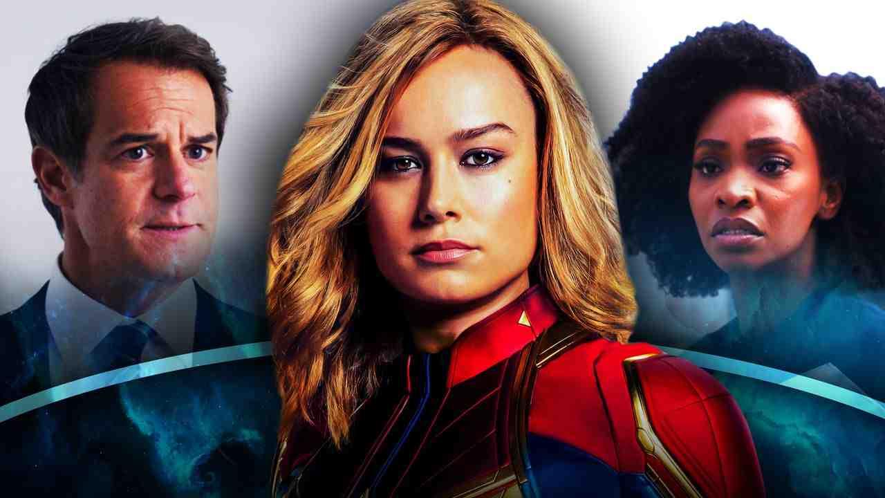 Director Hayward, Captain Marvel, Monica Rambeau