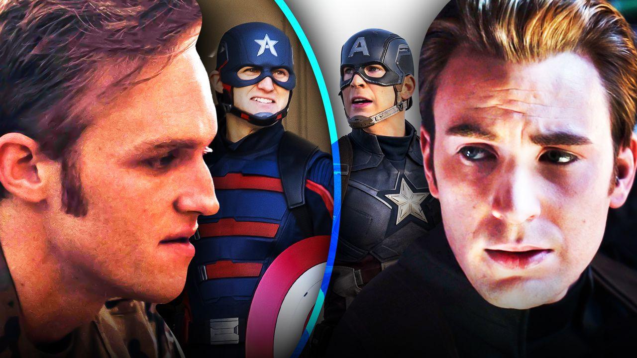 John Walker, Steve Rogers, Captain America