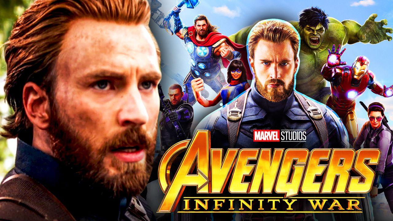 Captain America, Avengers Infinity War, Marvels Avengers Game Skin Suit