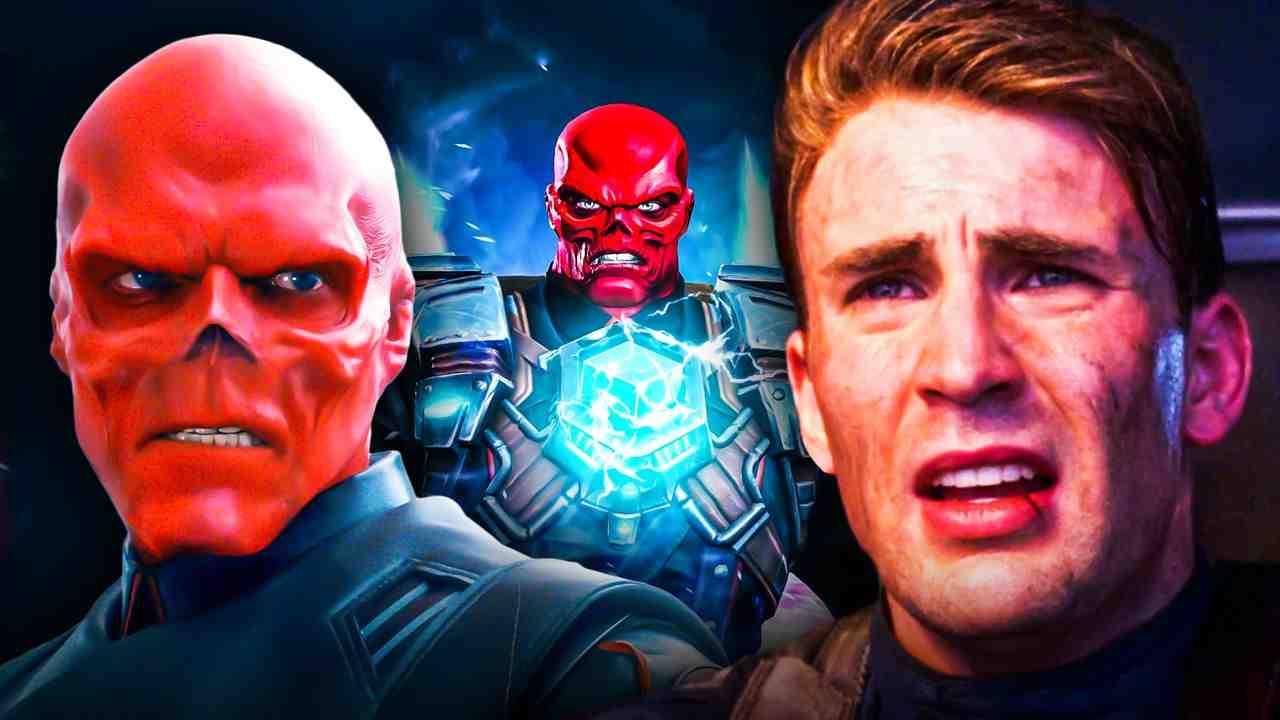 Hugo Weaving Red Skull, Red Skull Tesseract, Chris Evans Captain America, The First Avenger