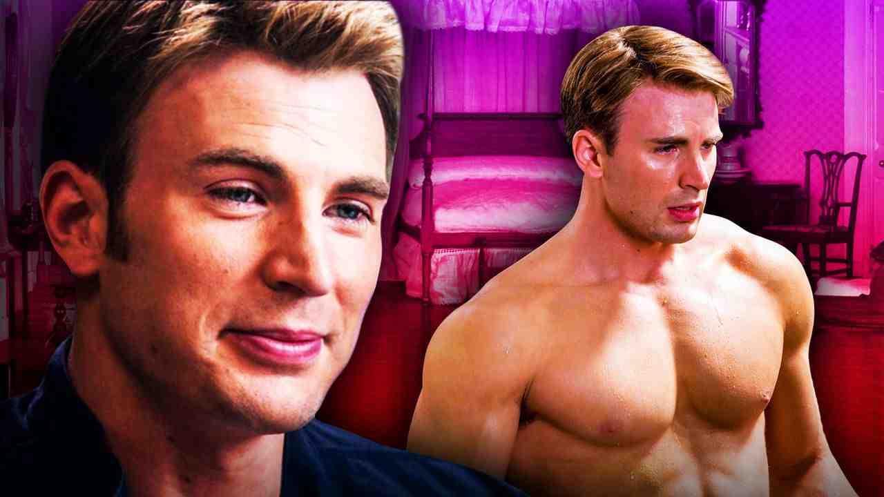 Steve Rogers, Captain America, Chris Evans, Topless Captain America