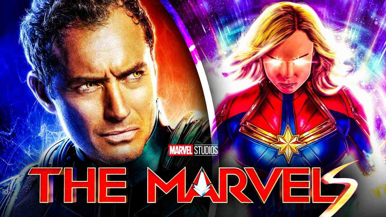 Captain Marvel 2 Brie Larson Jude Law
