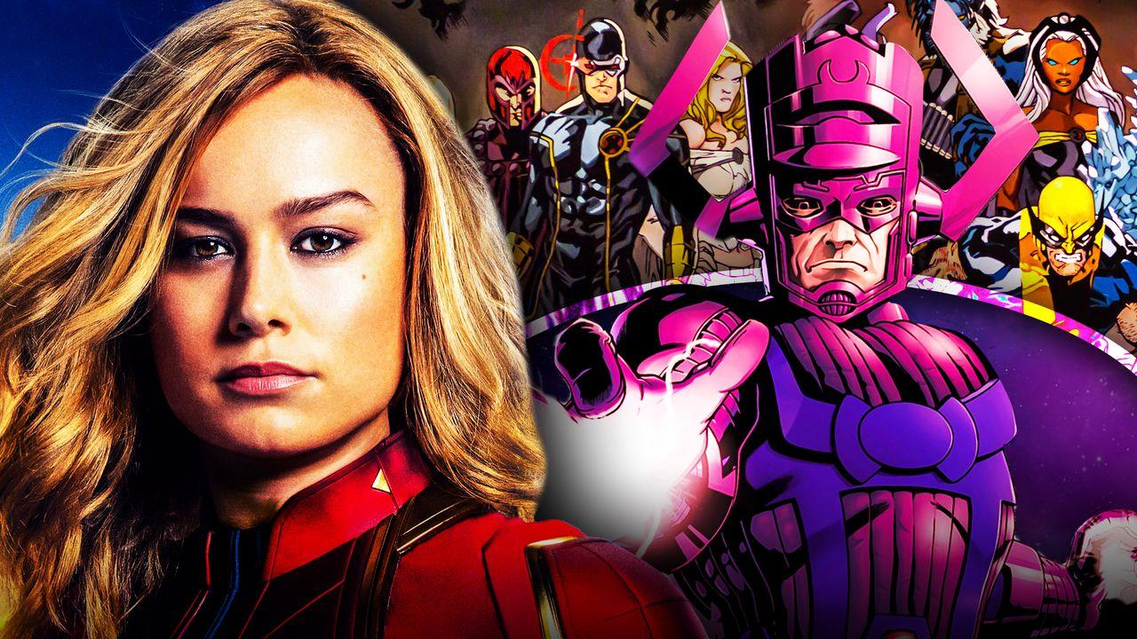 Captain Marvel, Brie Larson, Galactus, X-Men