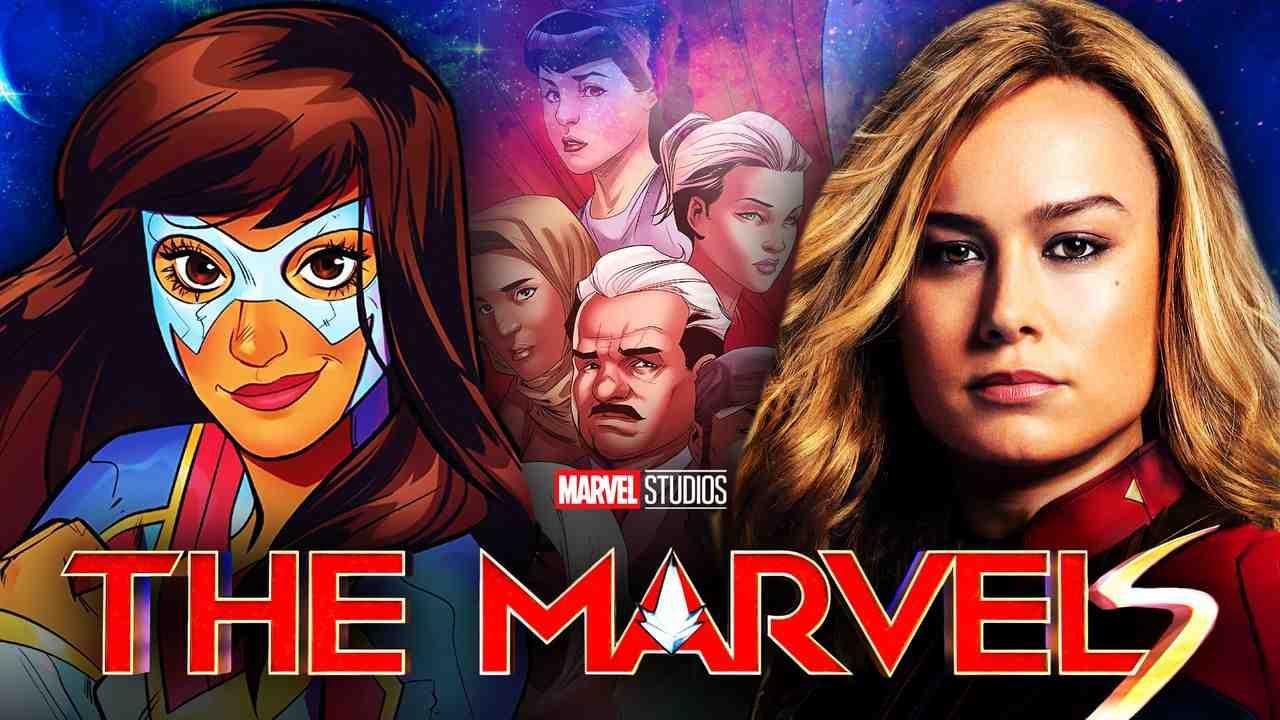 Ms. Marvel, Captain Marvel, Brie Larson