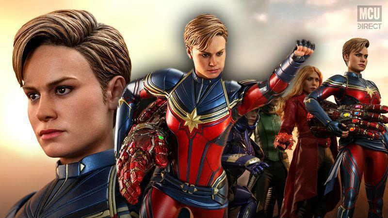 Captain Marvel Hot Toys Collectible Revealed