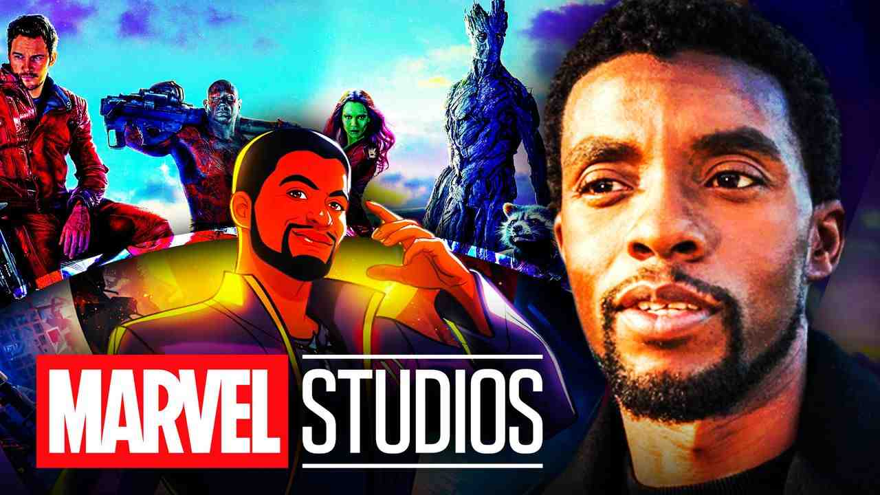Chadwick Boseman Guardians Galaxy T'Challa