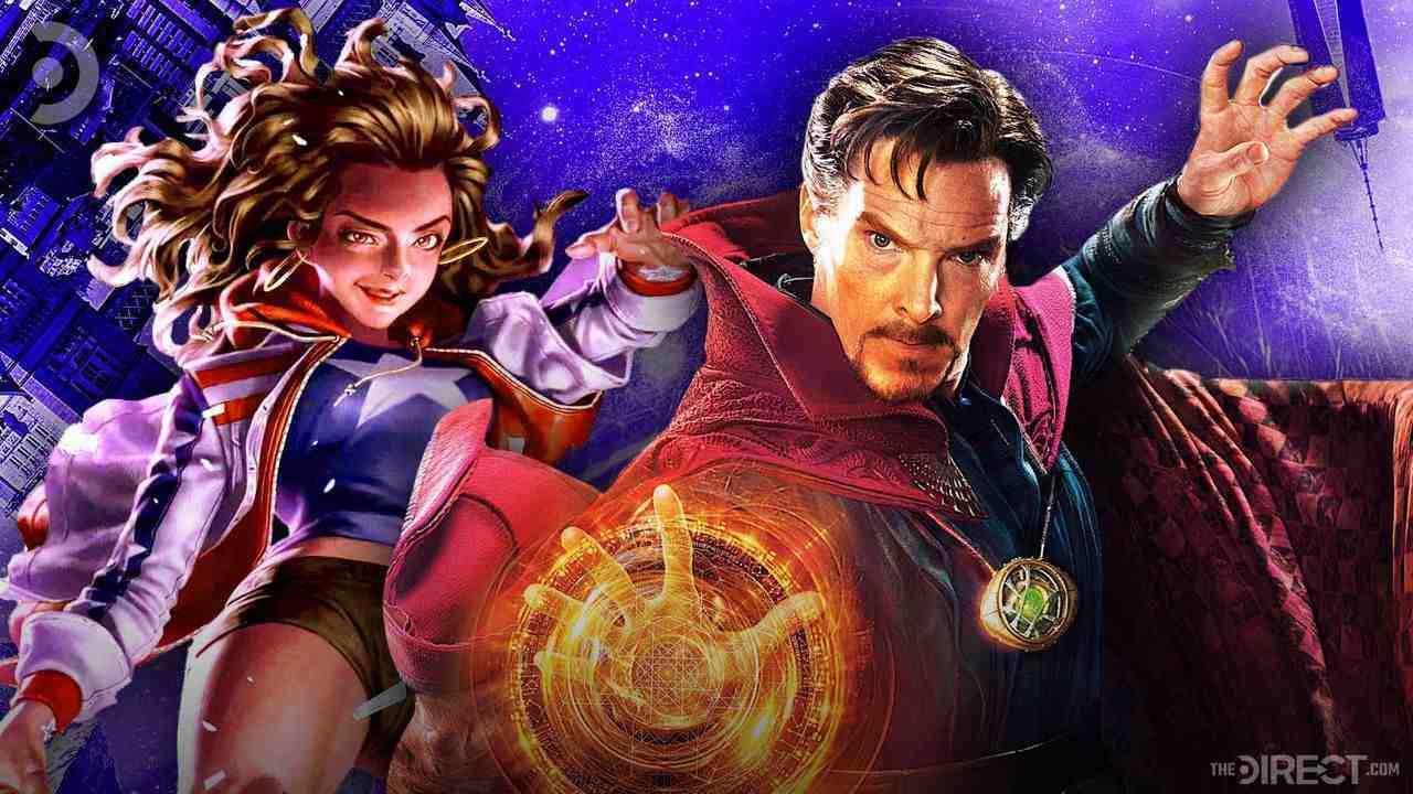 America Chavez and Doctor Strange