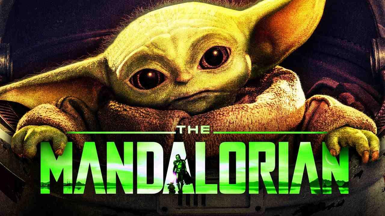 Baby Yoda, The Mandalorian logo