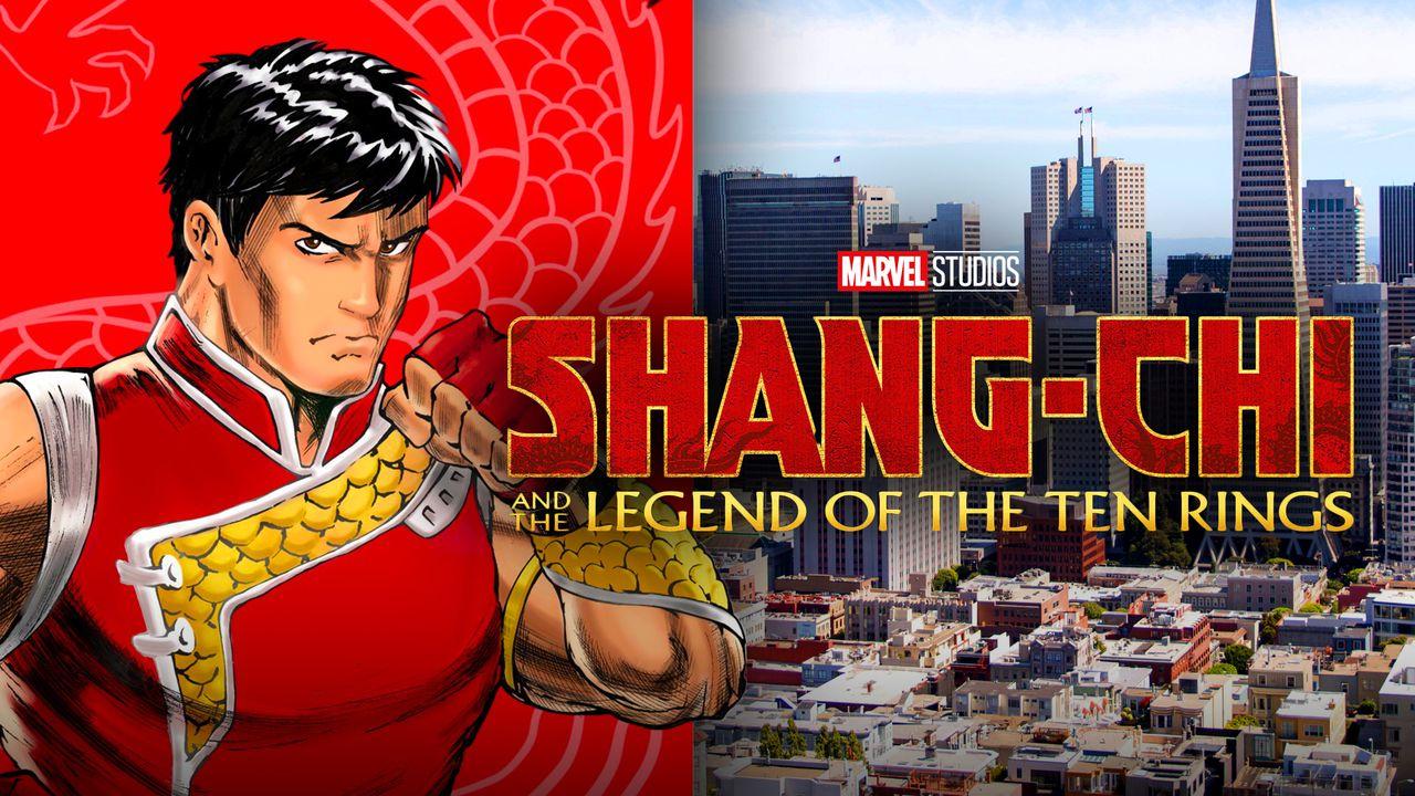 Shang-Chi, San Francisco, Shang-Chi Logo