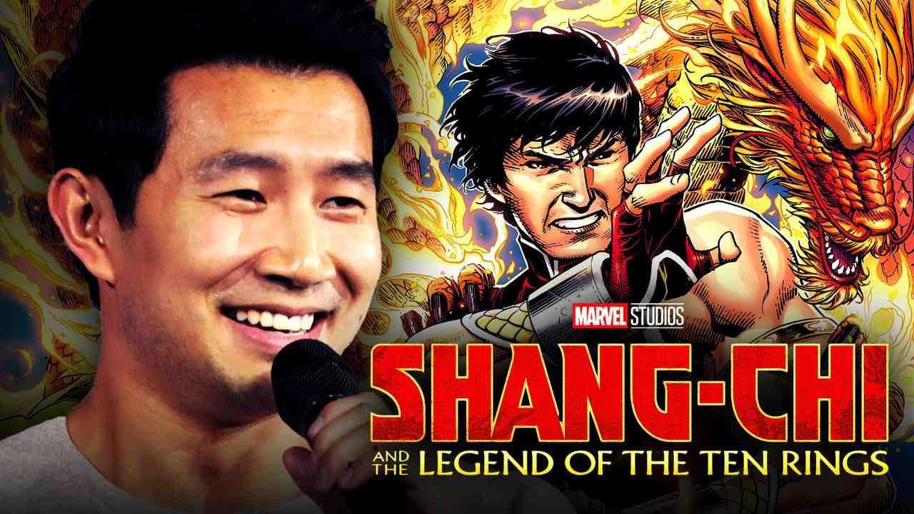 Simu Liu Shang Chi