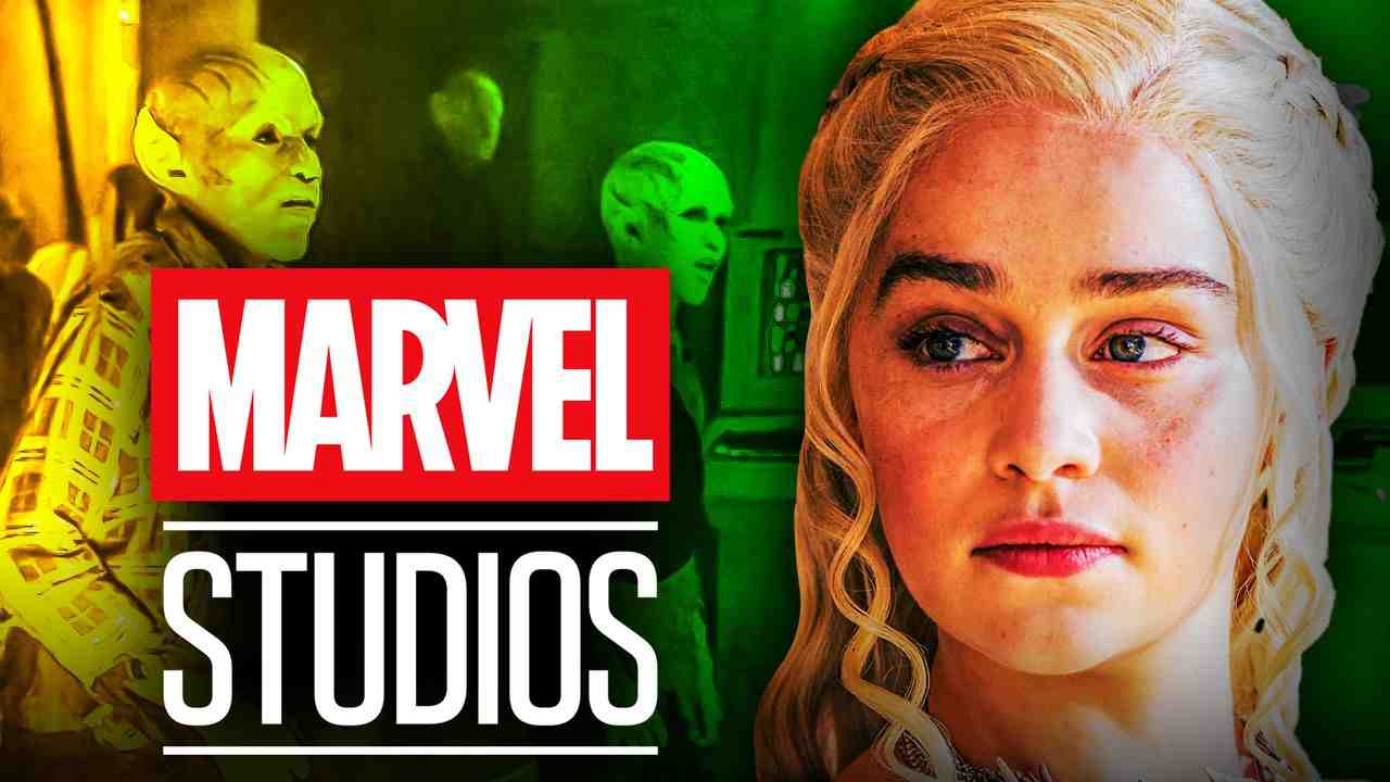 Emilia Clarke Marvel Studios Logo