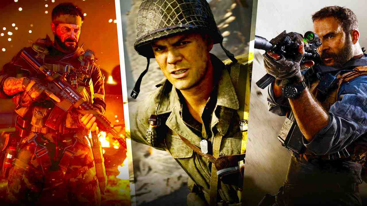 Assorted Call of Duty Titles