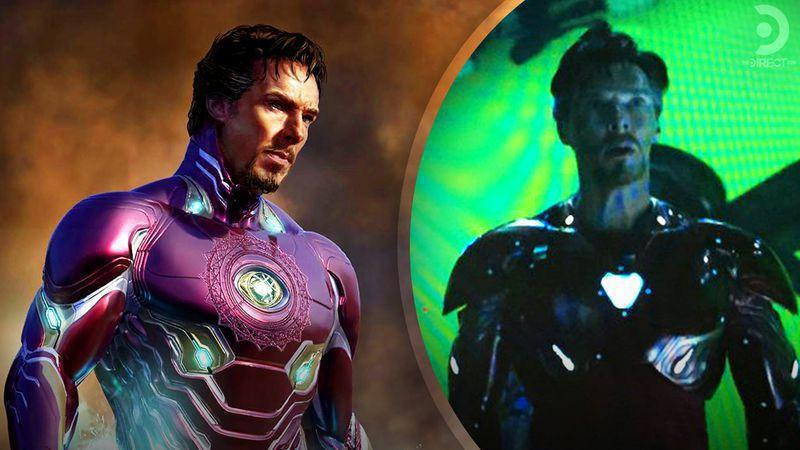 Benedict Cumberbatch Iron Man, Avengers: Infinity War