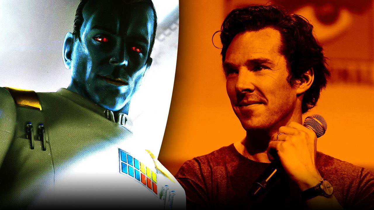 Benedict Cumberbatch and Grand Admiral Thrawn