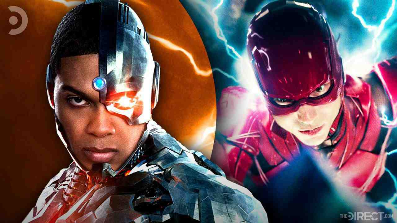 Ray Fisher as Cyborg, Ezra Miller as The Flash