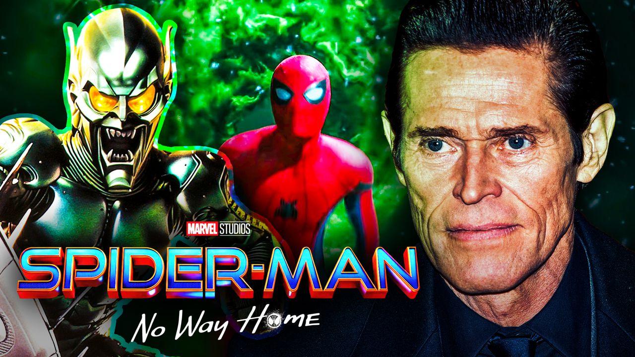 Willem Dafoe Green Goblin Spider-Man No Way Home