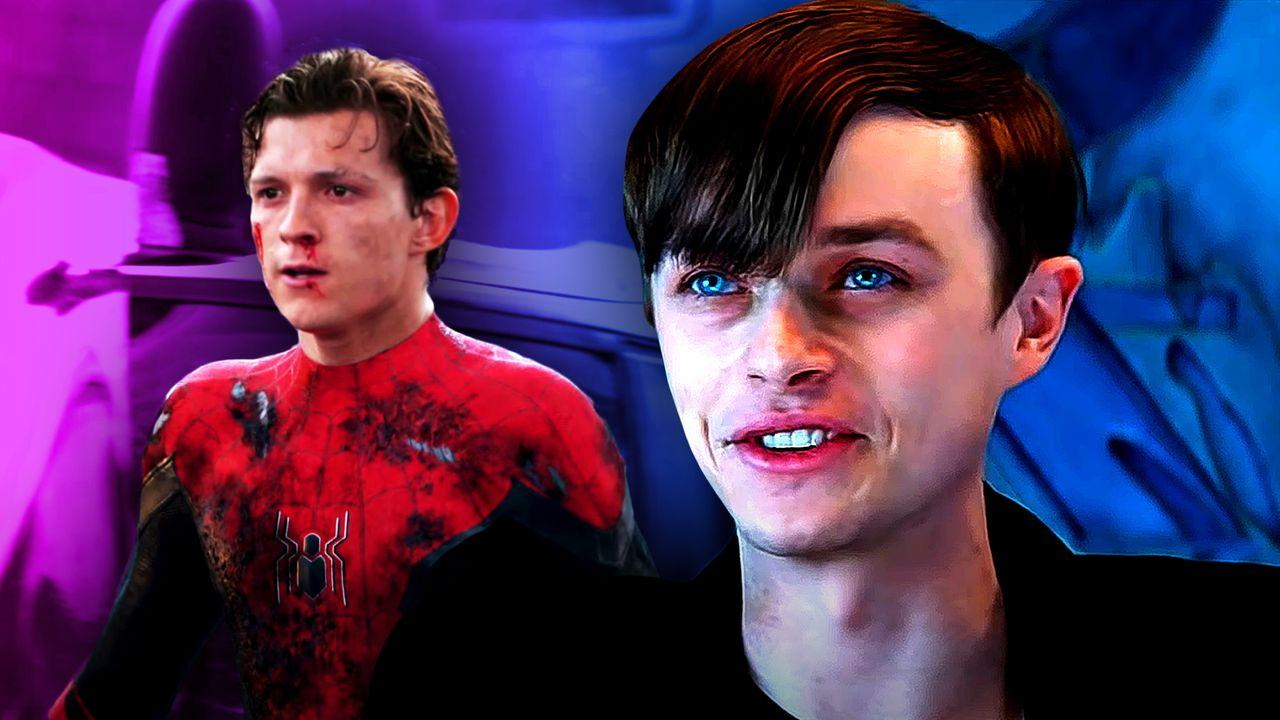 Dane DeHaan as Harry Osborn, Tom Holland as Peter Parker for Spider-Man 3