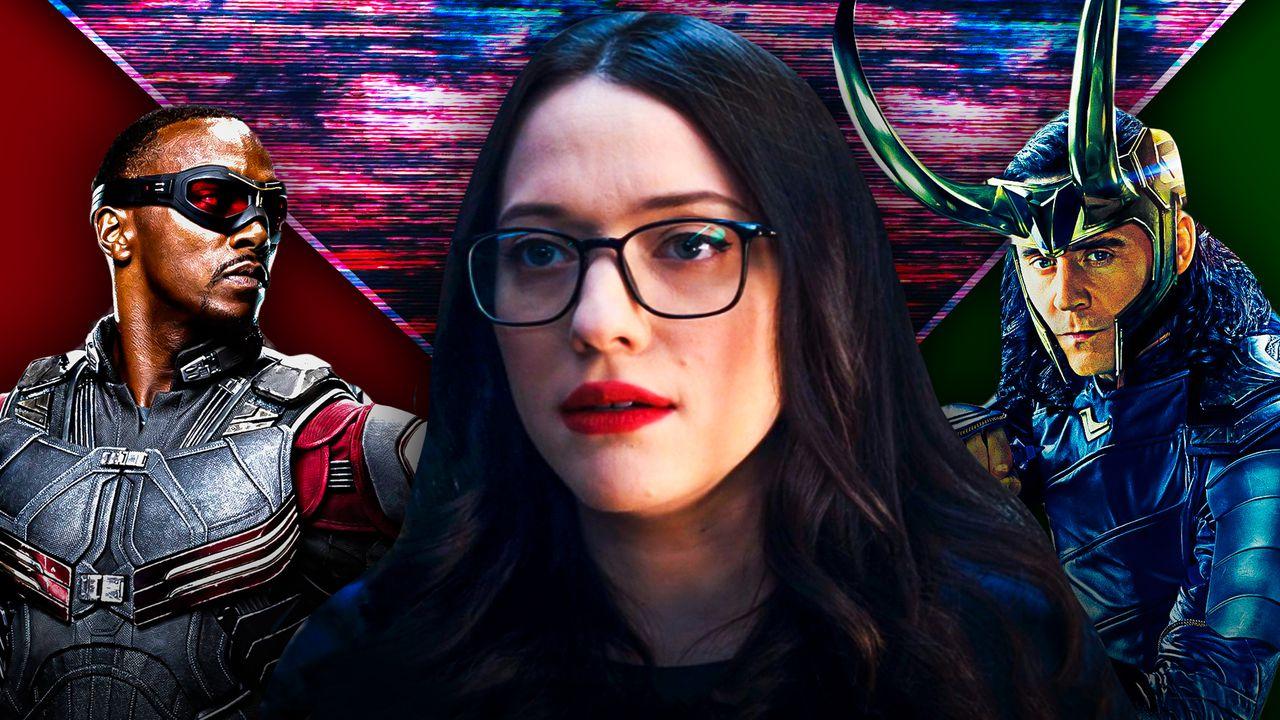 The Falcon, Darcy Lewis, Loki.