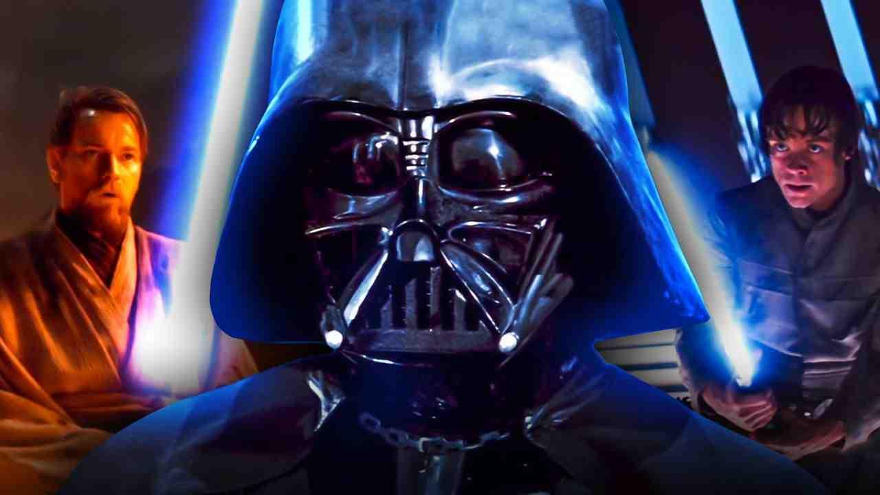 Darth Vader, Obi-Wan Kenobi, Luke Skywalker