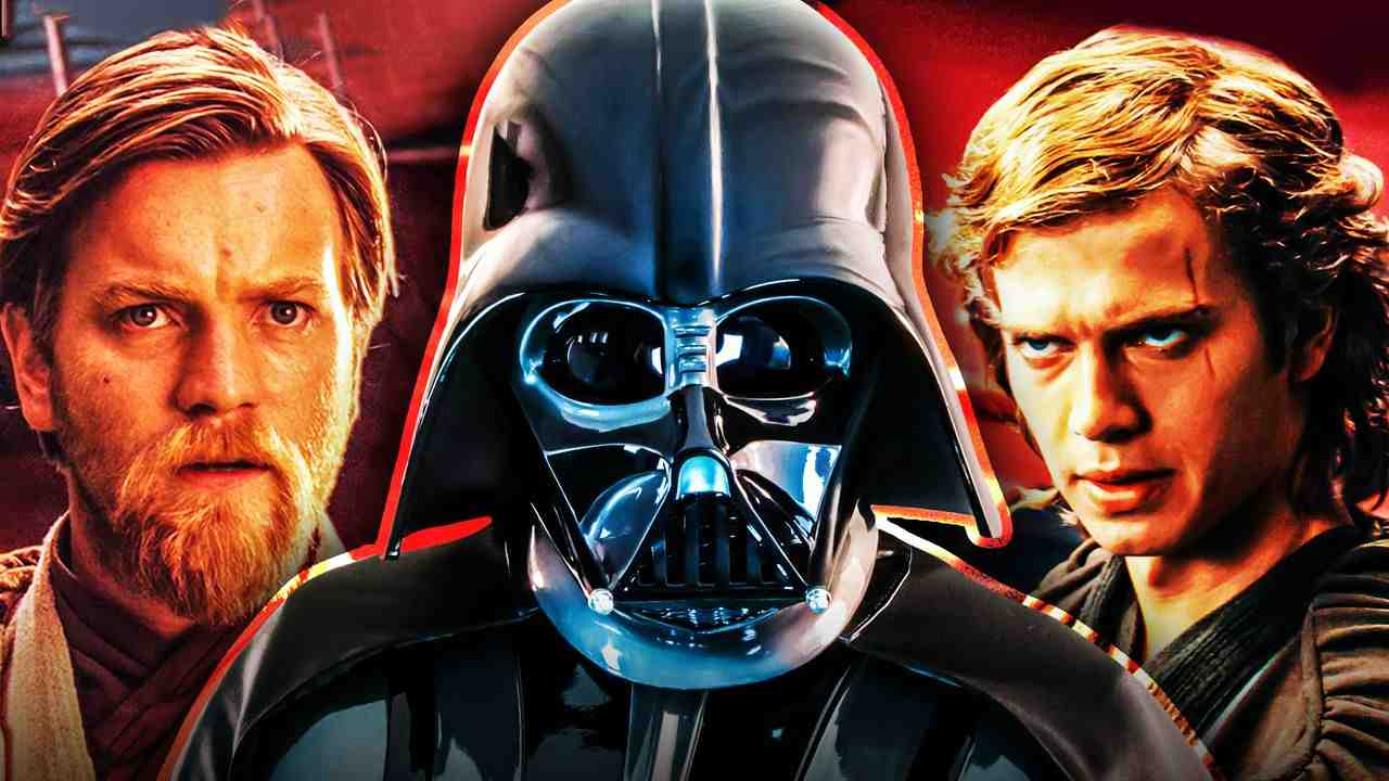 Darth Vader Obi-Wan Kenobi Anakin Skywalker
