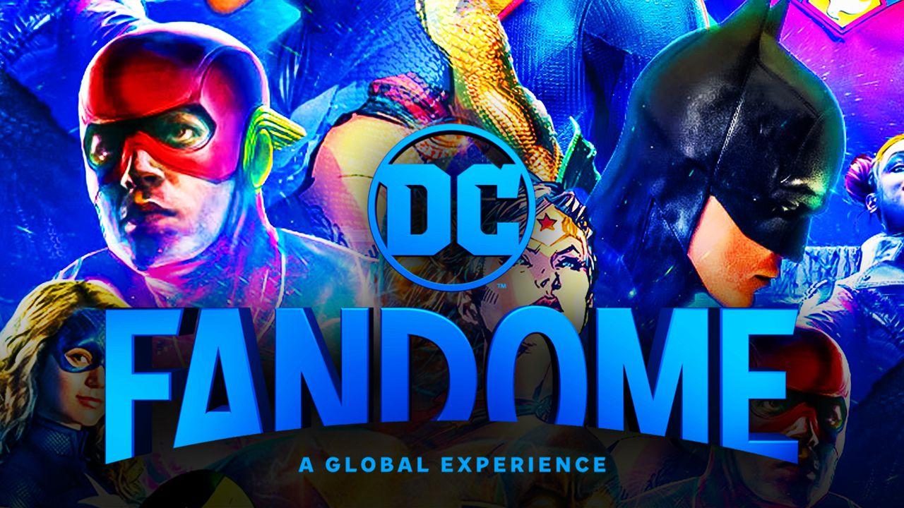 DC FanDome poster 2021