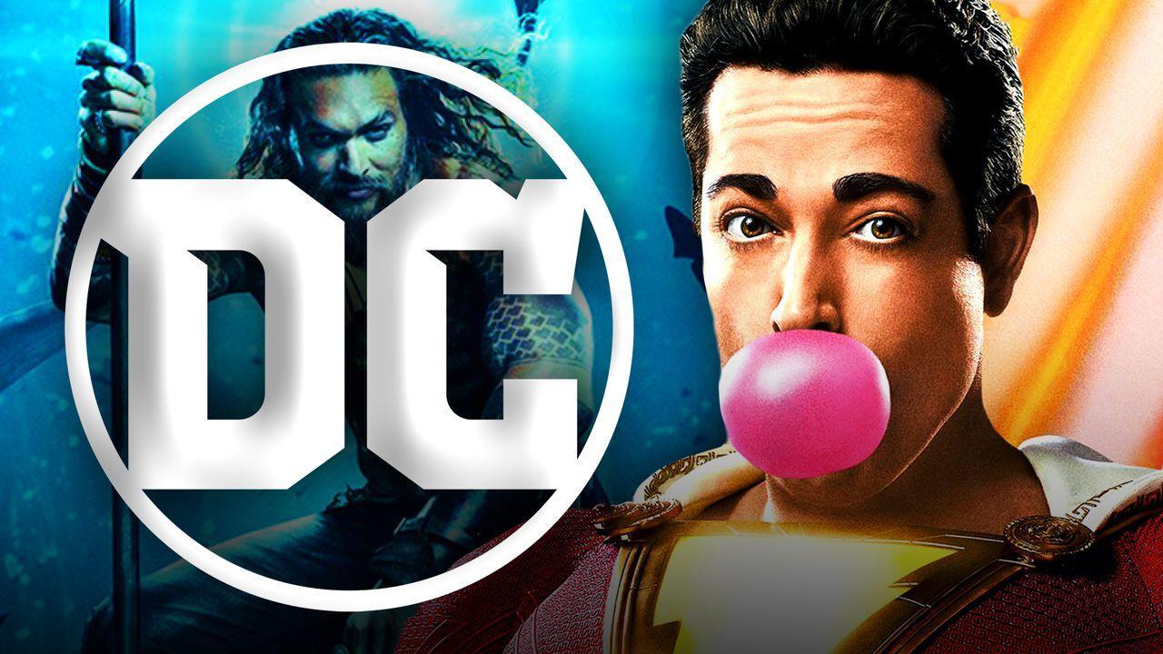 DC Logo, Shazam, Aquaman