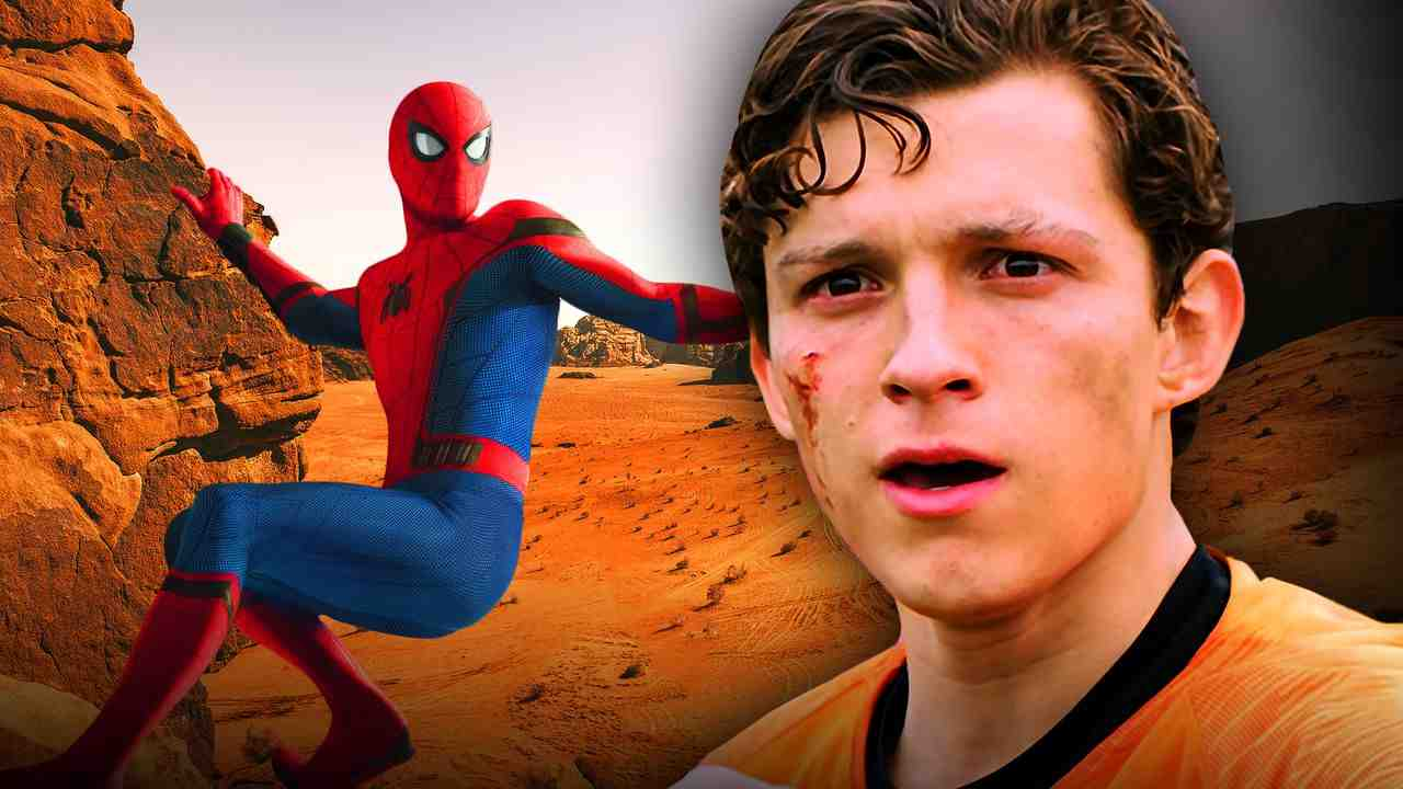 Spider-Man desert, Peter Parker