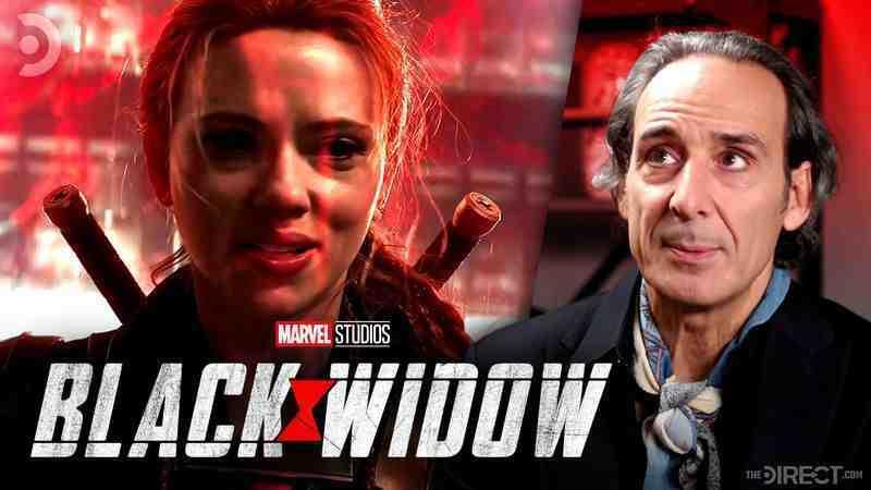 Original Black Widow Composer Alexandre Desplat