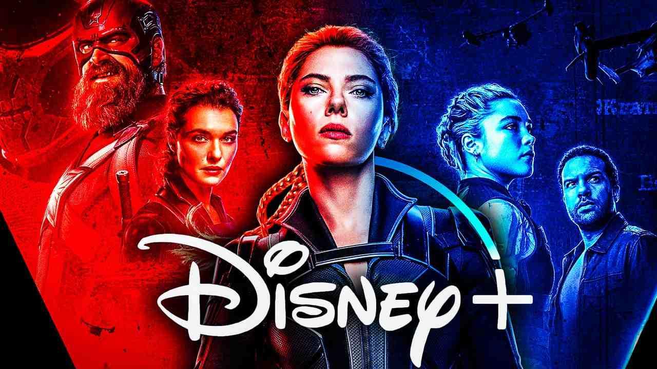 Black Widow Poster, Disney+