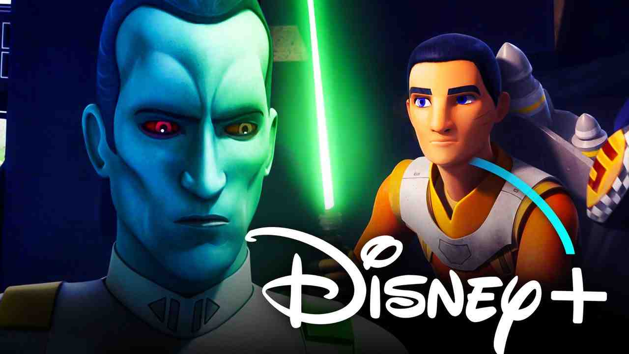 Ezra Bridger Thrawn Disney+ logo