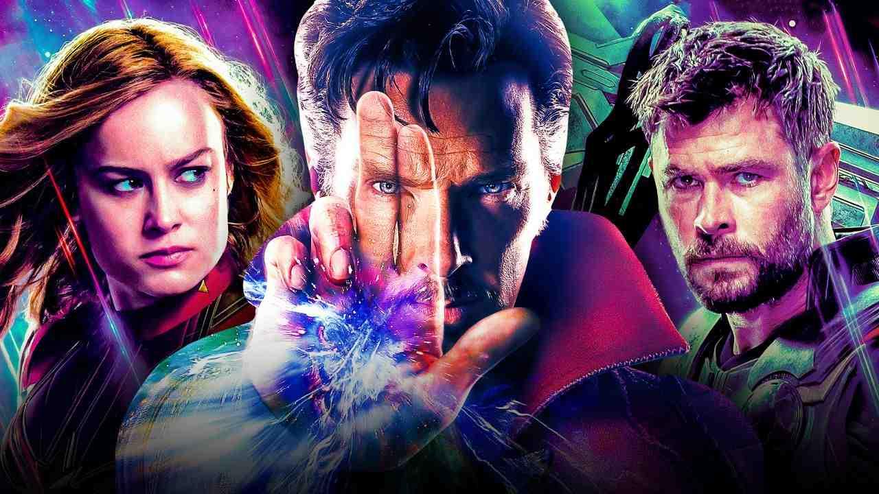 Captain Marvel, Doctor Strange, Thor