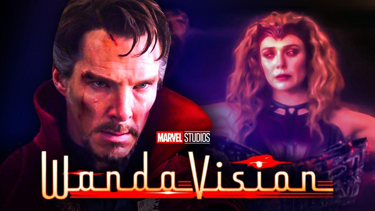 Benedict Cumberbatch as Doctor Strange, Elizabeth Olsen as Wanda Maximoff