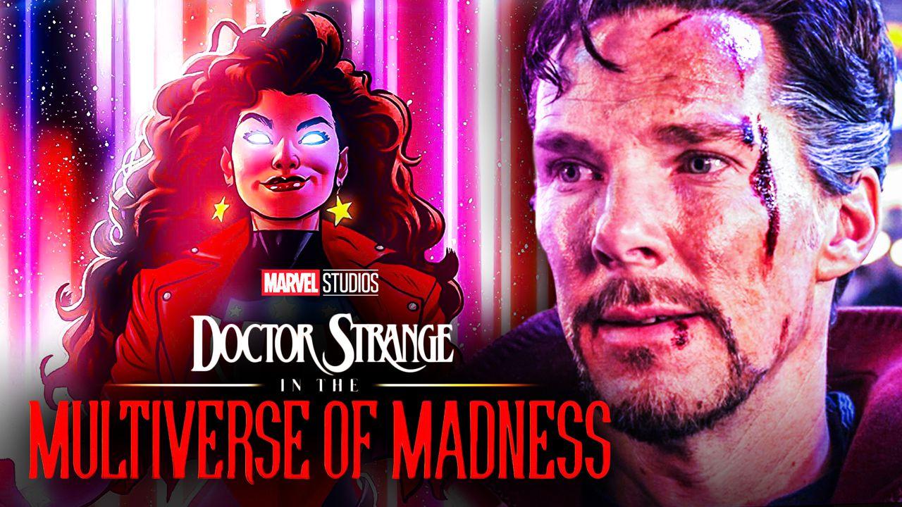 Miss America Chavez and Benedict Cumberbatch's Doctor Strange