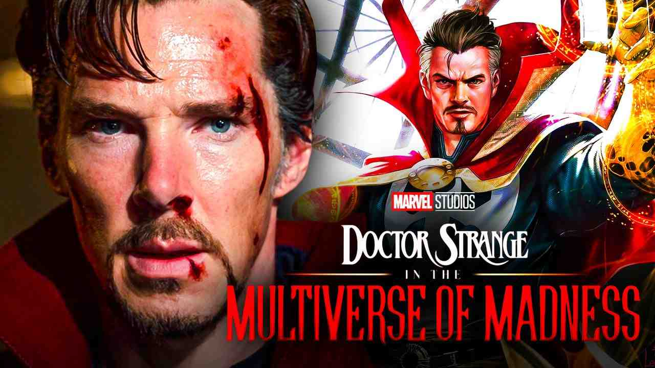 Doctor Strange Benedict Cumberbatch Multiverse Logo
