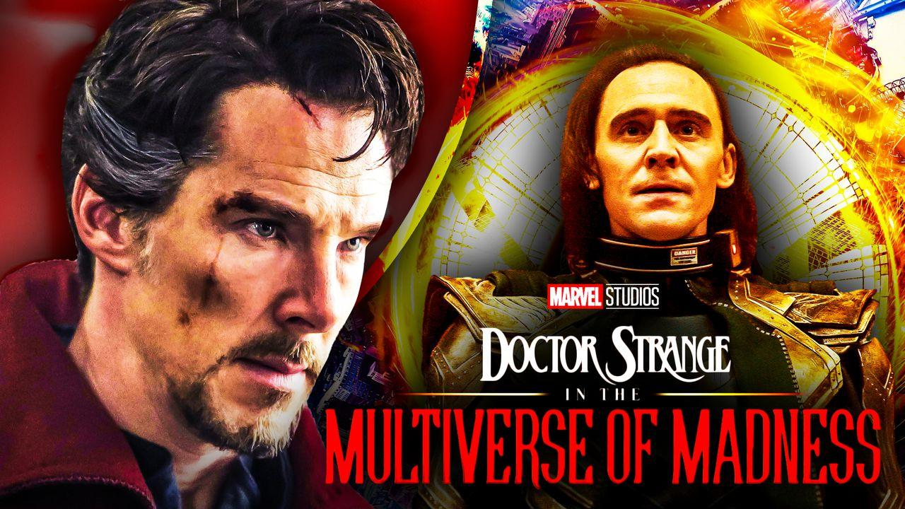 Benedict Cumberbatch's Doctor Strange and Tom Hiddleston's Loki