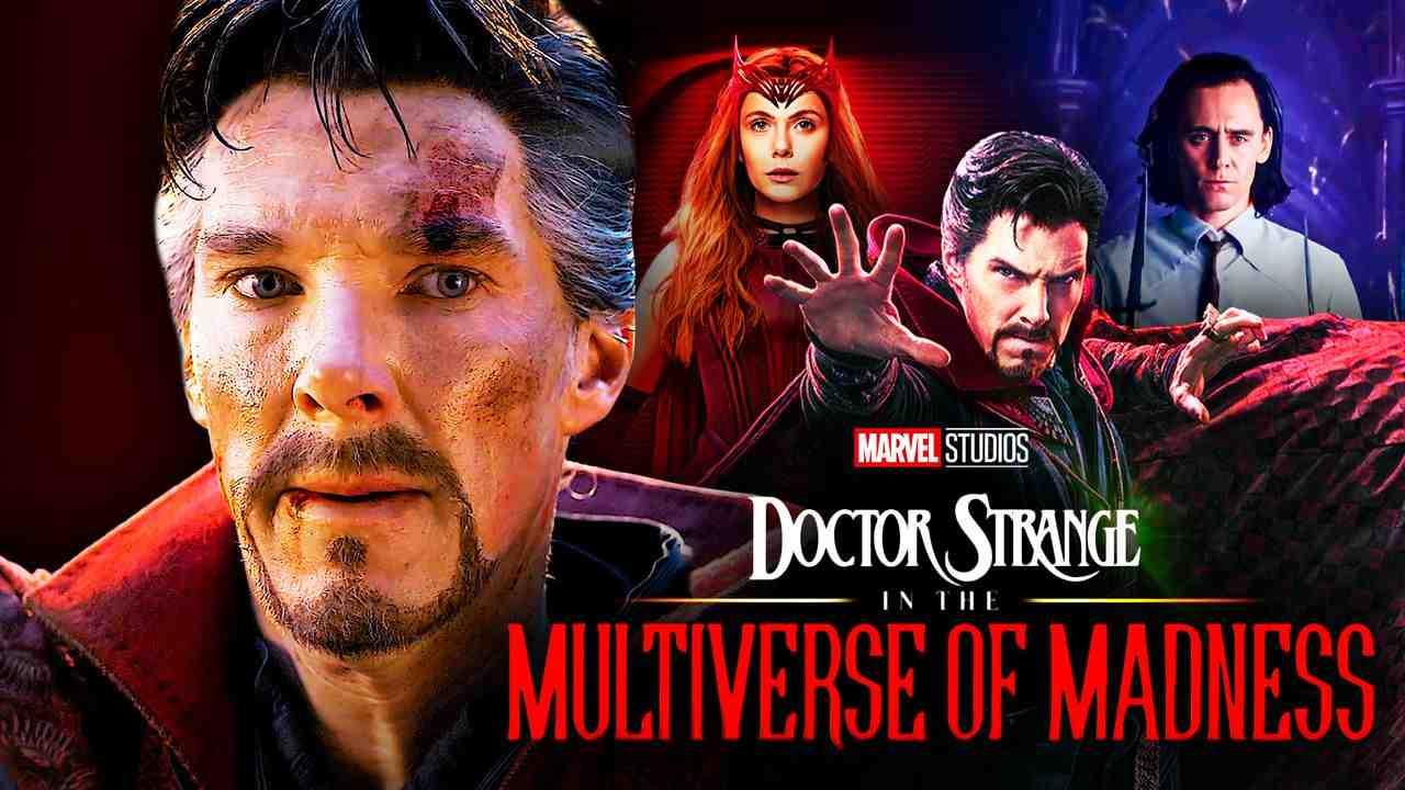 Doctor Strange Benedict Cumberbatch Scarlet Witch