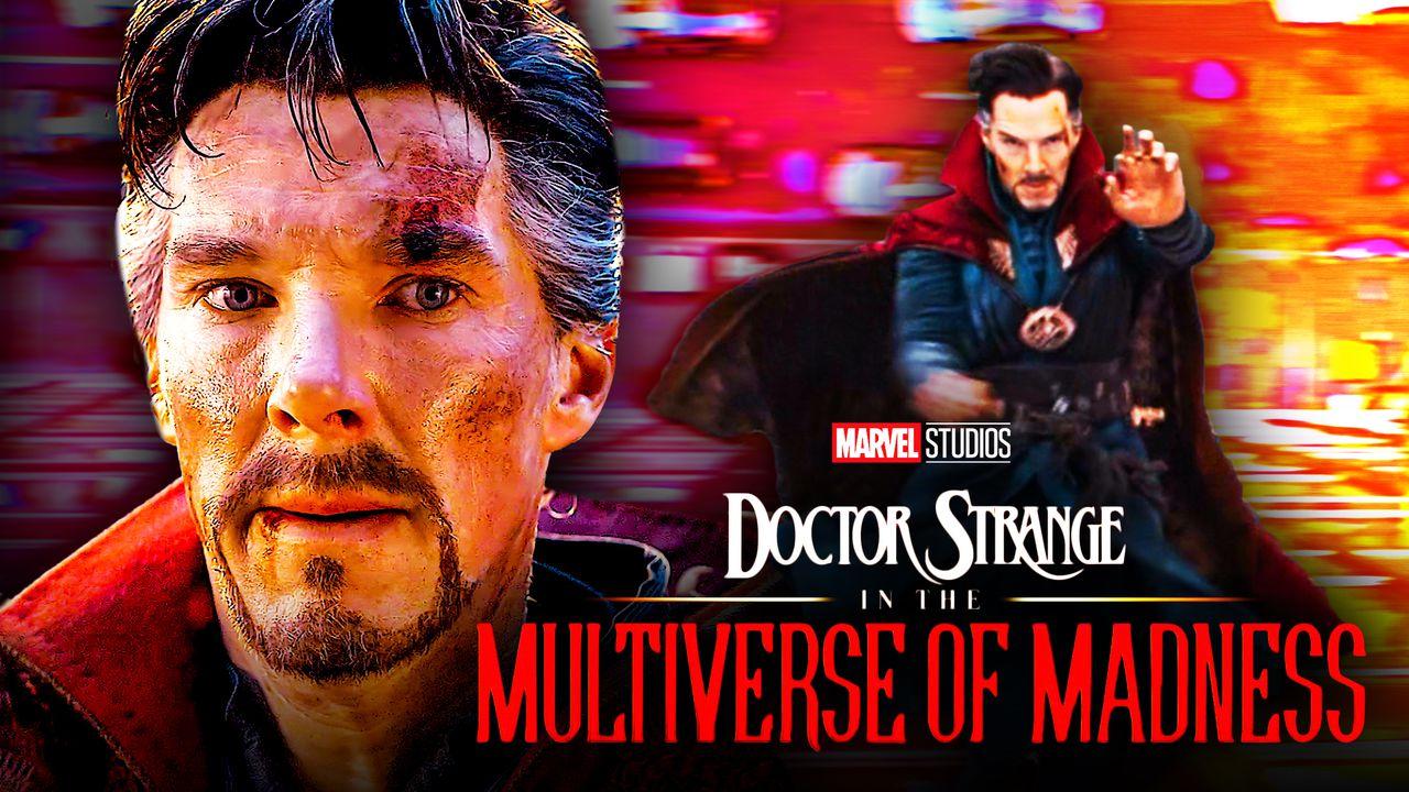 Doctor Strange, Benedict Cumberbatch, Doctor Strange in the Multiverse of Madness Logo