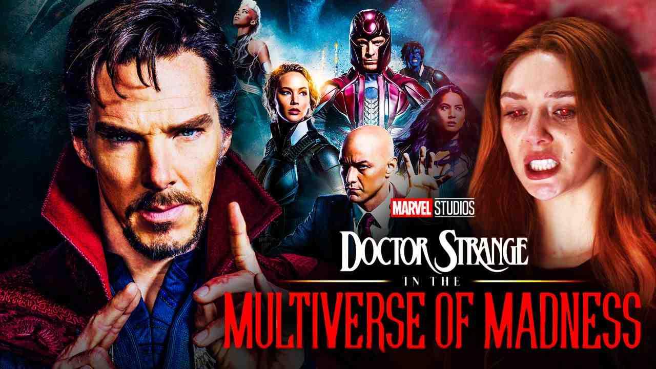 Doctor Strange, Scarlet Witch, X-Men