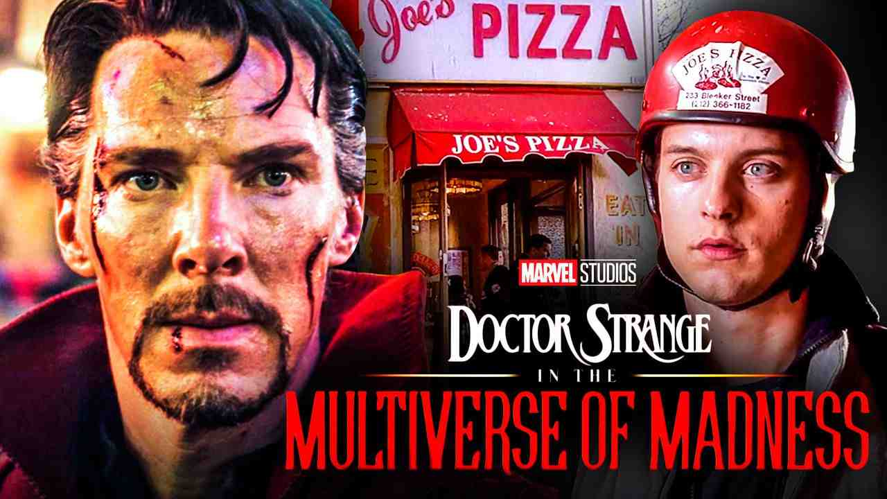 Doctor Strange Tobey Maguire Peter Parker Pizza
