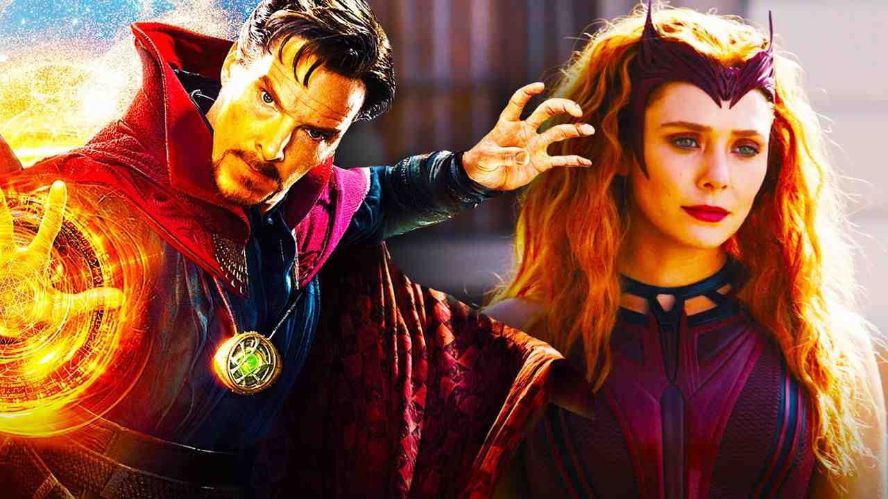 Doctor Strange and Scarlet Witch