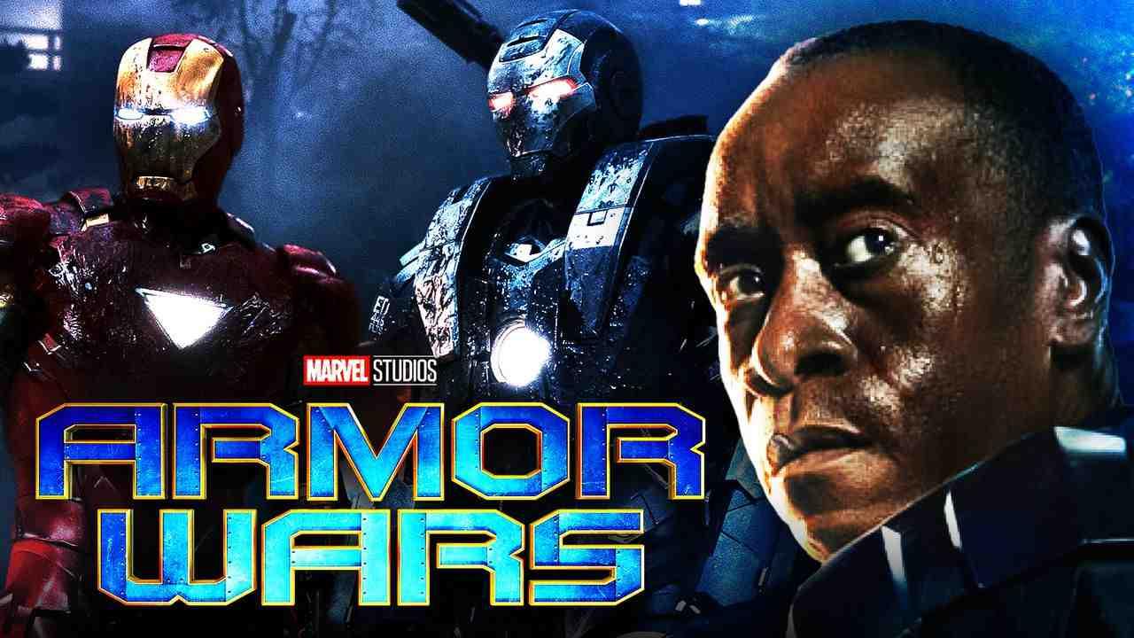 Iron Man War Machine Armor Wars