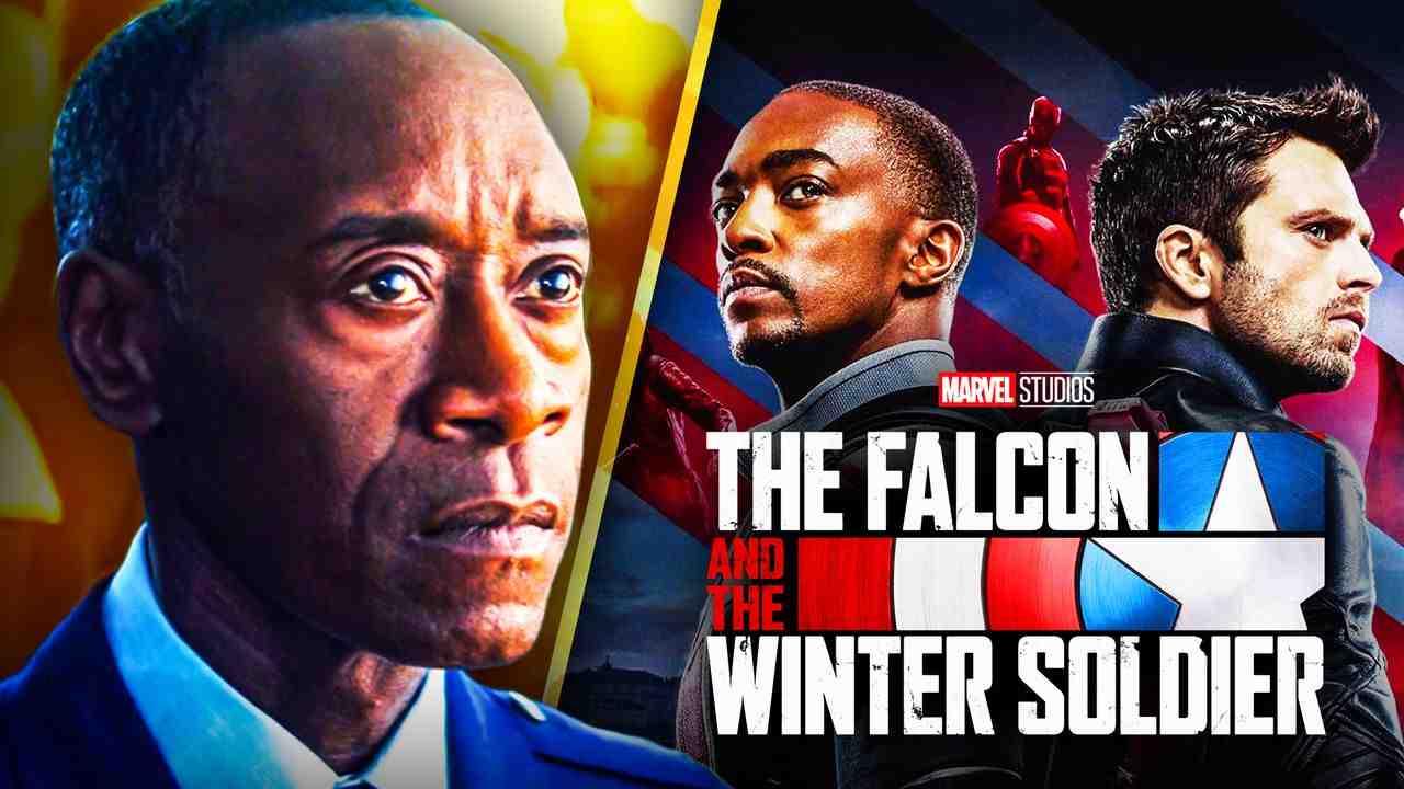 Don Cheadle Falcon and winter soldier