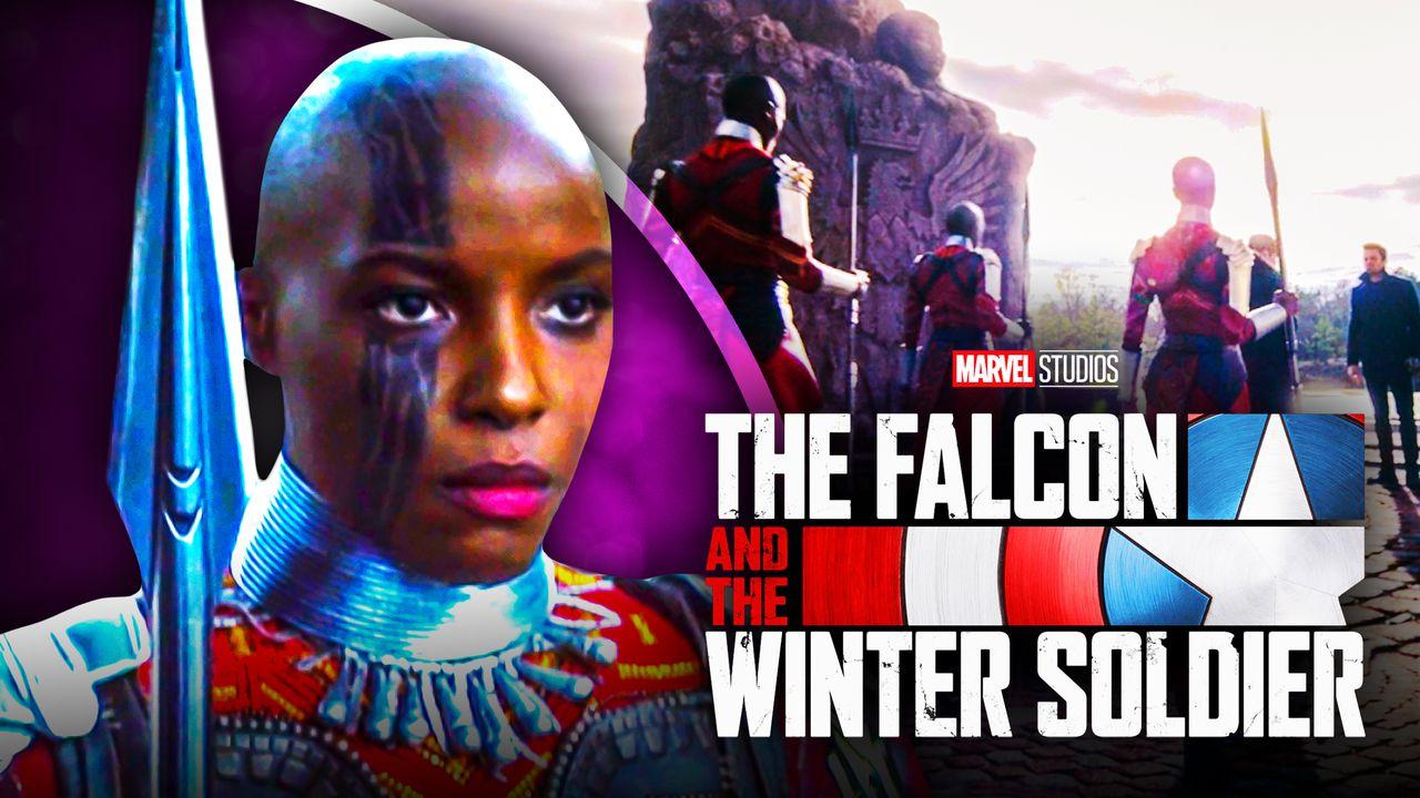 Falcon and Winter Soldier's Janeshia Adams-Ginyard Dora Milaje