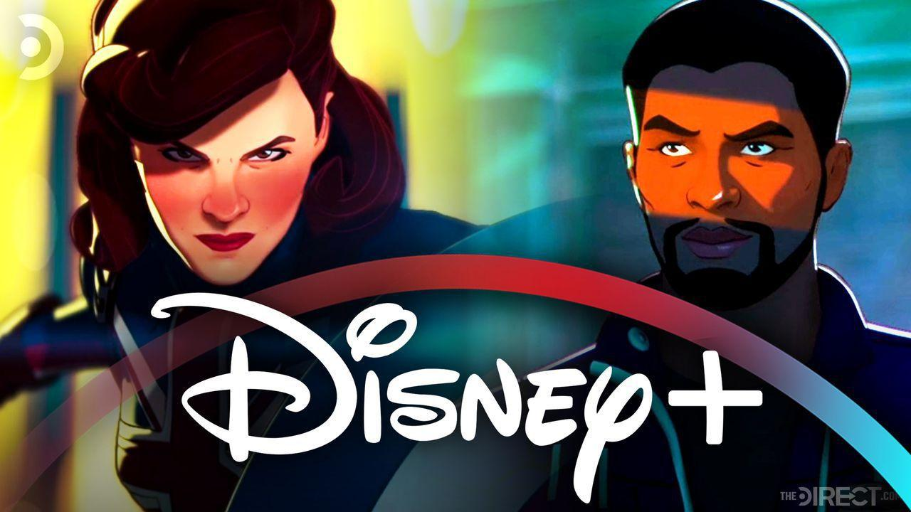 Disney+ Logo, Agent Carter, T'Challa in What If...?